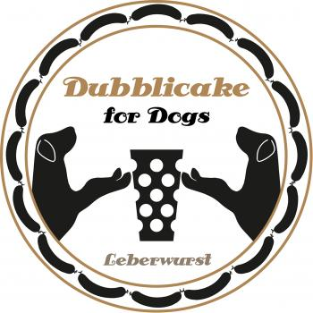 Dubblicake for dogs - Leberwurst